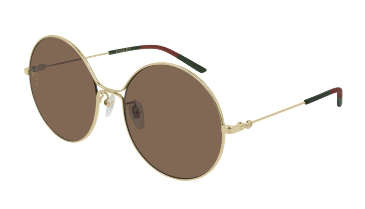 c64056f353 Comprar Gafas De Sol Gucci Gg 0395S Metal Redondo - Optilens Óptica