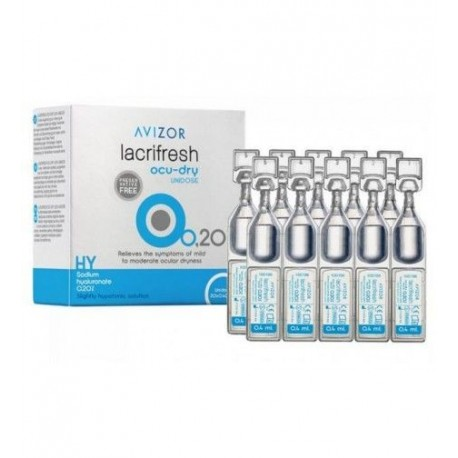 LÁGRIMA LACRIFRESH OCU-DRY 0,20%