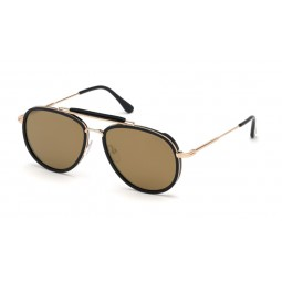 TOM FORD TRIPP TF666 NEGRO/DORADO
