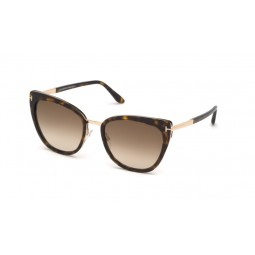 TOM FORD SIMONA TF717 HAVANA/DORADO