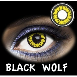BLACK WOLF- LENTES CONTACTO FANTASÍA DÍA
